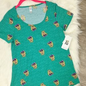 Lularoe Miss Piggie from the Muppet's Tee NWT